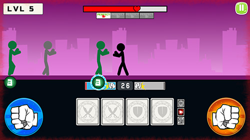 Stickman fight 2018 - Android game screenshots.