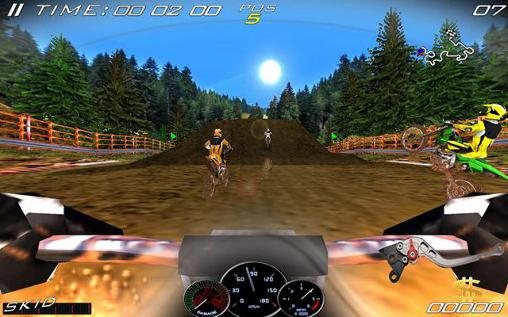 Gameplay of the Ultimate motocross 3 for Android phone or tablet.