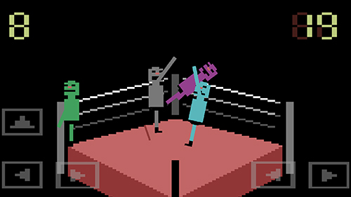 Wras sling: Wacky wrestling - Android game screenshots.