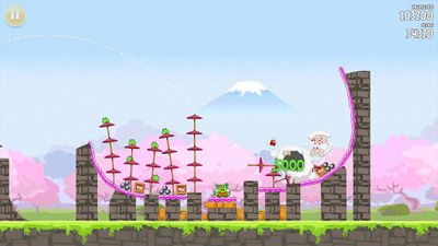 Full version of Android apk Angry Birds Seasons: Cherry Blossom Festival12 for tablet and phone.