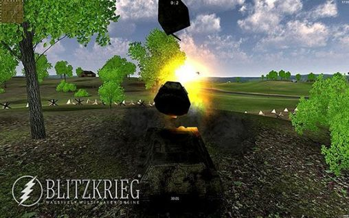 Blitzkrieg MMO: Tank battles (Armored aces) - Android game screenshots.