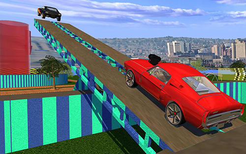 Extreme city GT ramp stunts - Android game screenshots.
