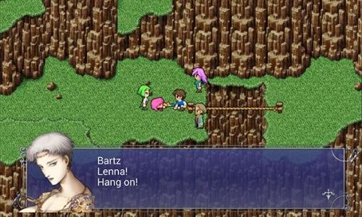 Gameplay of the Final fantasy V for Android phone or tablet.
