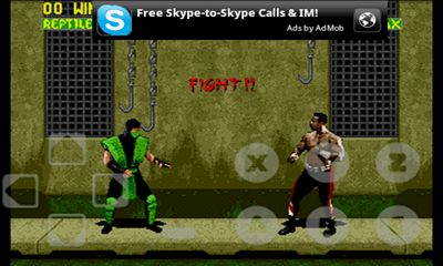 Mortal Combat 2 - Android game screenshots.