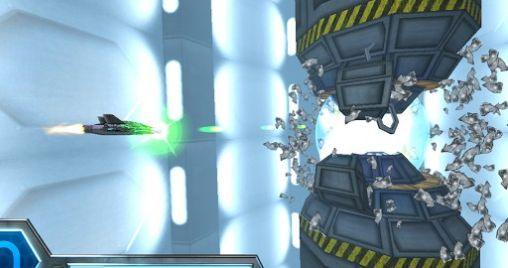 Razor Run: 3D space shooter - Android game screenshots.