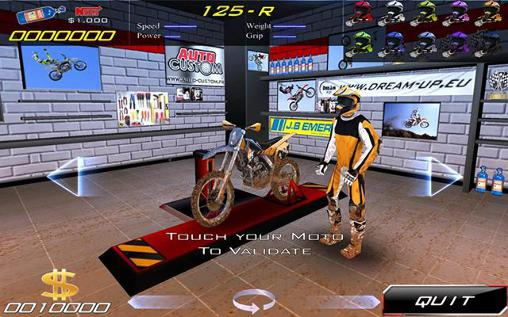 Ultimate motocross 3 - Android game screenshots.