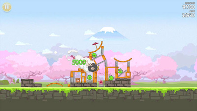 Full version of Android apk app Angry Birds Seasons: Cherry Blossom Festival12 for tablet and phone.