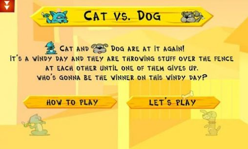 Cat vs dog deluxe - Android game screenshots.