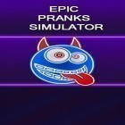 Download game Epic pranks simulator for free and Cake go: Party with candle for Android phones and tablets .