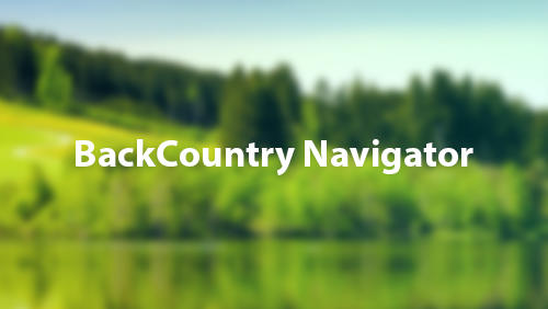 Download Back Country Navigator - free Android 4.0.3. .a.n.d. .h.i.g.h.e.r app for phones and tablets.