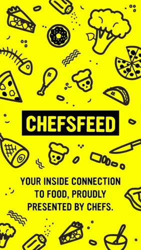 Download ChefsFeed - Dine like a pro - free Social Android app for phones and tablets.