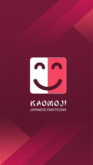 Download Kaomoji: Japanese Emoticons - free Android 2.3. .a.n.d. .h.i.g.h.e.r app for phones and tablets.