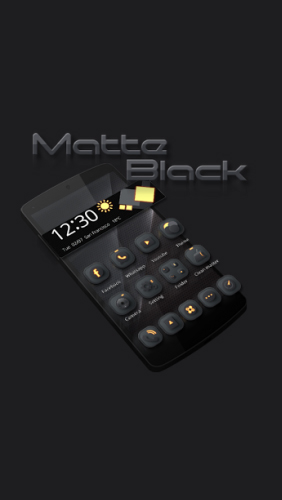 Download Metta: Black - free Android 4.0. .a.n.d. .h.i.g.h.e.r app for phones and tablets.