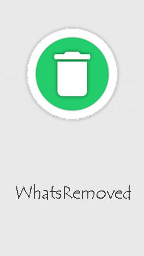 WhatsRemoved screenshot.