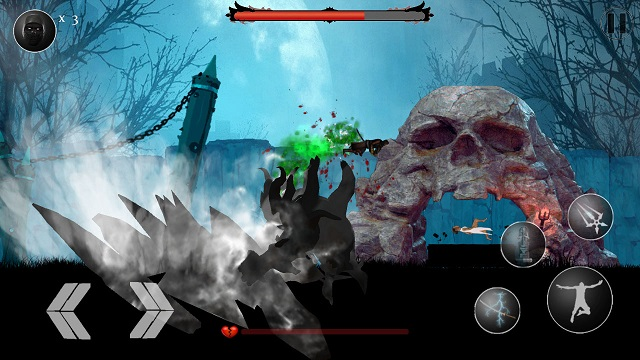 Gameplay of the Samurai Assassin (A Warrior's Tale) for Android phone or tablet.