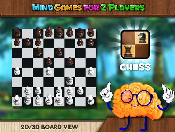 Gameplay of the Mind Games for 2 Player for Android phone or tablet.