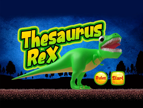 Download Thesaurus Rex iPhone Logic game free.