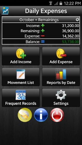 Daily expenses 2 screenshot.