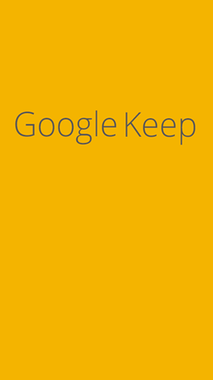 Download Google Keep - free Android 4.0 app for phones and tablets.