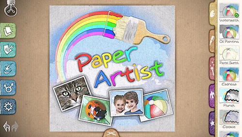 Download Paper artist - free Android 4.0.3 app for phones and tablets.