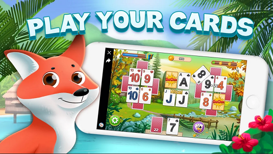 Solitaire Story – Tripeaks Card Journey - Android game screenshots.