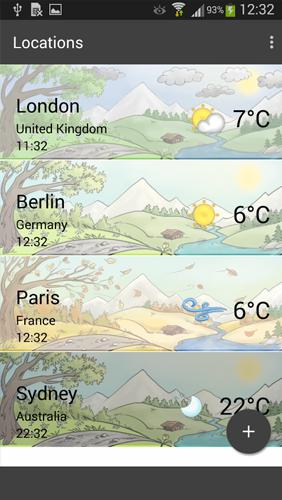 Weather by Miki Muster screenshot.
