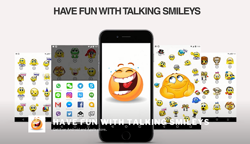 Download Talking Smileys - Animated Sound Emoticons - free Android 5.0 app for phones and tablets.