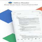 App Office Reader - Word, Excel, PowerPoint & PDF for Android free download.