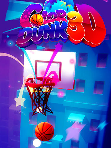 Download Color dunk 3D iPhone Sports game free.