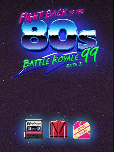 Download Fight back to the 80's: Match 3 battle royale iPhone Logic game free.