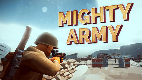 Game Mighty army: World war 2 for iPhone free download.