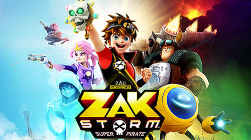Download Zak Storm: Super pirate iPhone Arcade game free.