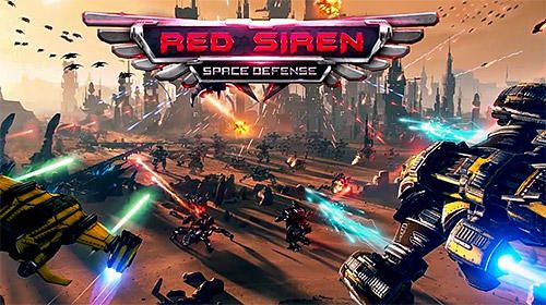Download Red siren: Space defense iPhone game free.