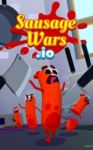 Download Sausage wars.io iPhone Arcade game free.
