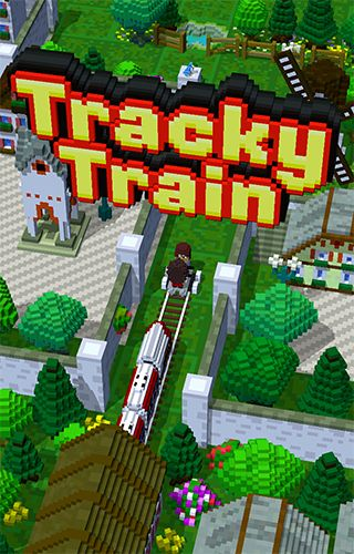 Game Tracky train for iPhone free download.