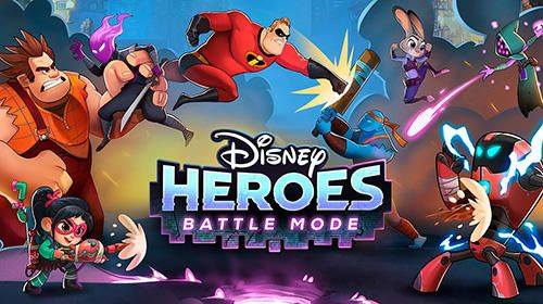Download Disney heroes: Battle mode iPhone RPG game free.