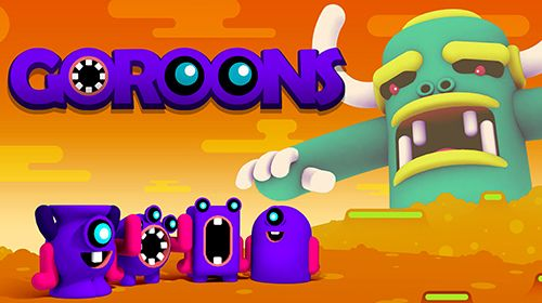 Download Goroons iPhone Arcade game free.