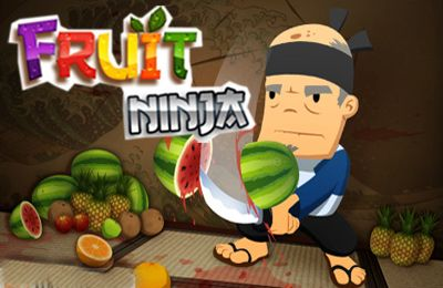 Game Fruit Ninja for iPhone free download.