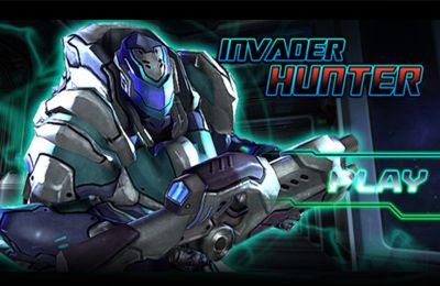 Game Invader Hunter for iPhone free download.
