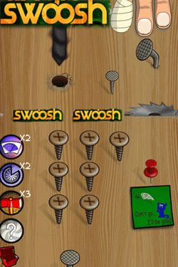 Game Swoosh! for iPhone free download.