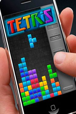 Game TETRIS for iPhone free download.
