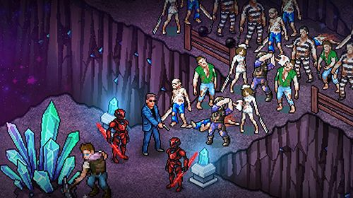 Gameplay screenshots of the Fury survivor: Pixel Z for iPad, iPhone or iPod.