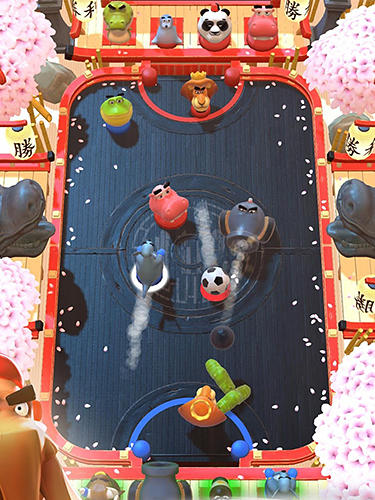 Gameplay screenshots of the Rumble stars for iPad, iPhone or iPod.