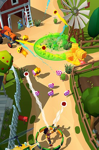 Gameplay screenshots of the Candy patrol: Lollipop defense for iPad, iPhone or iPod.