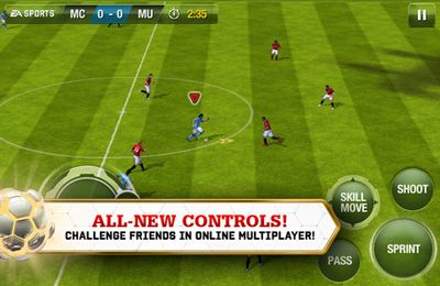 Free FIFA 13 by EA SPORTS - download for iPhone, iPad and iPod.