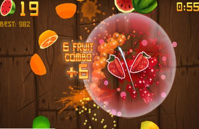 Free Fruit Ninja - download for iPhone, iPad and iPod.