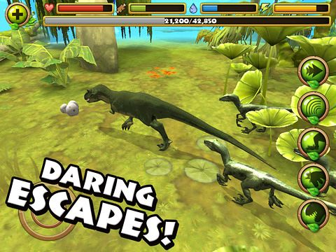 Free Jurassic life - download for iPhone, iPad and iPod.