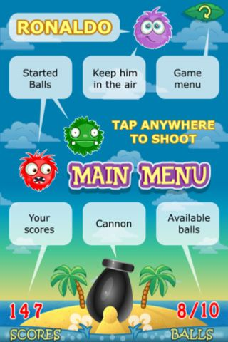 Free Ronaldo: Tropical island - download for iPhone, iPad and iPod.