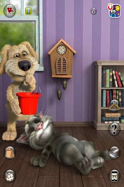 Free Talking Tom Cat 2 - download for iPhone, iPad and iPod.