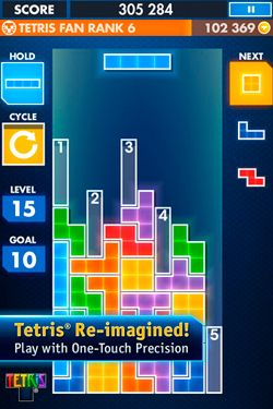 Free TETRIS - download for iPhone, iPad and iPod.